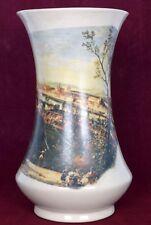 Rare Antique Unique Decorative Collectible Ceramic Flower Vase / pot. i59-51