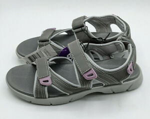 Khombu Ladies Women's Evelyn Outdoor Grey Hiking Sandals - Pick your Size