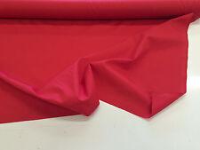 """rouge uni 96 """"/ 243cm polycoton DOUBLURE / draps tissu"""