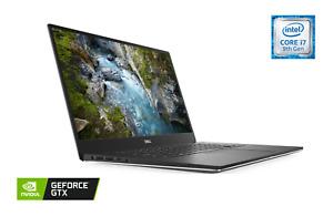 "Dell XPS 7590 Laptop 15.6"" 4K UHD, Intel i7-9750H, 32GB RAM, 1TB SSD, GTX 1650"