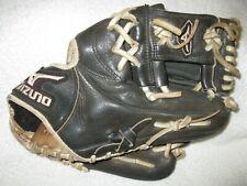 New listing Mizuno 11.25 inch black leather GMVP right handed thrower pro model glove/mitt
