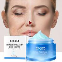 Hyaluronic Acid Gel Cream Anti-Aging Wrinkle Face & Eye Serum Moisturizer Skin