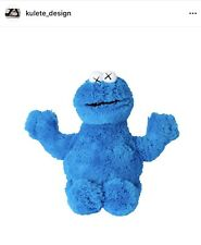Authentic Kaws x Sesame Street Uniqlo Plush Cookie Monster (from Uniqlo).