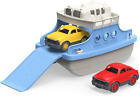 Bathtub Toys Ferry Boat with Mini 2 Cars Indoor Outdoor Water Toy Blue White