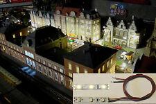 10 LED Hausbeleuchtung warmweiss anschlussfertig mit 40 cm Anschlusslitzen
