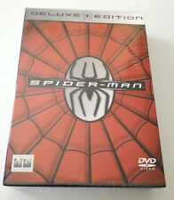SPIDERMAN DELUXE EDITION COFANETTO 3 DVD ITALIANO NUOVO SIGILLATO RARO!!!