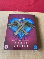 Romeo & Juliet Limited Edition Rare UK Blu ray Steelbook NEW & SEALED