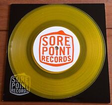 """FALL OUT BOY / MY AWESOME COMPILATION SPLIT VINYL 7"""" YELLOW GRAND THEFT AUTUMN"""