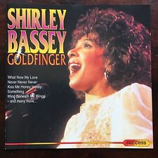Goldfinger by Shirley Bassey - 1993 Music CD 16 Songs