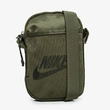 NIKE HERITAGE Cross Body Bag Small Items Green BA5871-325 Unisex 100%AUTHENTIC