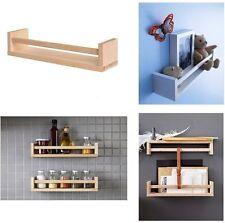 2x IKEA BEKVAM in legno Barattolo per spezie RACK STAND CUCINA MENSOLA ARCHIVIAZIONE