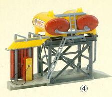 Faller(Plastoy) H0 120145 - Dieseltankstelle SHELL, Bausatz, Beutelverp., NEU