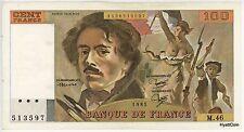 1981 Banque De France 100 Cent Francs