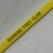 BURNING TREE CLUB, BETHESDA, MARYLAND, SWIZZLE STICK