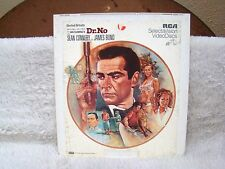 CED VideoDisc Ian Fleming's Dr. No (1962), United Artists Presents, RCA Select