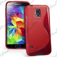 Funda Carcasa TPU silicona Gel Patrón S-Line Para Serie Samsung Galaxy S