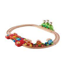 Hape E3825 Music & singes en bois train chemin de fer de Nourrissons Enfants Jou...