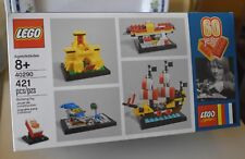 LEGO 40290 60 Years of the Lego Brick *Promo Set* In-Hand 421 Pieces NEW