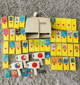 Holy Vintage 1977 Fisher Price Movie Viewer Theater 37 Movie Cartridges #463 LOT