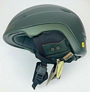 Giro Zone MIPS Snow Sports Helmet Adult Large Matte Olive NIB