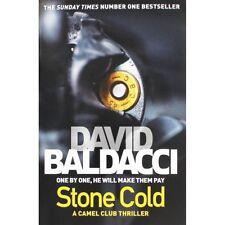 DAVID BALDACCI __ STONE COLD __ BLACK COVER _ B FORMAT _ BRAND NEW _ FREEPOST UK
