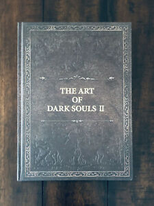 Dark Souls II 2 Japan Collector's Edition Hard Cover Artbook Art Book