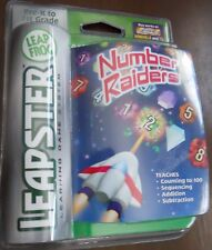 LeapFrog Leapster L-Max compatible Number Raider Educational Math Game Leap Frog