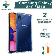Samsung Galaxy A10 M10 Case Cover ShockProof Soft Bumper Case Clear TPU Silicone