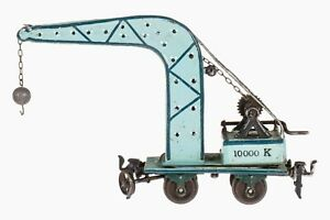 AC1738: Vintage Märklin 0 Gauge Crane Wagon (1859/0)