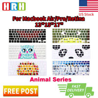 Animal Series Silicone Keyboard Cover Skin Protector for Apple MacBook Pro 13 15