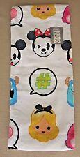"Disney Pixar Emoji Beach Towel 30"" x 60"" Mickey Minnie Nemo Monsters Inc New T2"