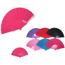 6pcs Summer Portable Plastic Hand Fan Folding Chinese Dance Japanese Wedding Lot