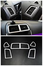 ABS Armaturenbrett Klimaanlage Vent Rahmen 5 Stück für Mitsubishi ASX 2010-2016