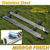 """For 04-14 FORD F150 Super/Extended Cab 6"""" Running Board Nerf Bar Side Step V S/S"""