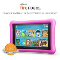 "All-New Fire HD 8Th 2018 Kids Edition Tablet,8"" HD Display, 32 GB Pink"