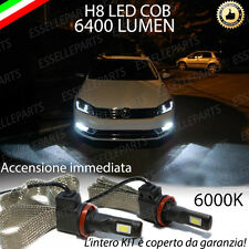 KIT FULL LED VW PASSAT B7 LAMPADE H8 FENDINEBBIA CANBUS 6000K 6400 LUMEN