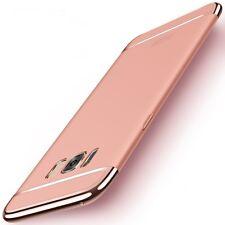 Handy Hülle Schutz Case für Samsung Galaxy S8 Bumper 3 in 1 Cover Rose Gold Neu