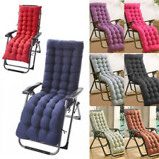 Garden Sun Lounger Replacement Cushions Pad for Zero Gravity Recliner Chair Seat