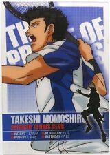 The Prince of Tennis Clear Trading Card Takeshi Momoshiro