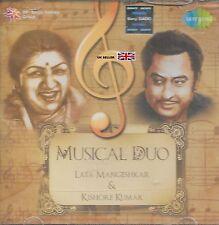 LATA MANGESHKAR & KISHORE KUMAR - MUSICAL Duo - Nuevo Bollywood Banda Sonora CD
