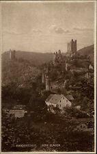 Manderscheid Rheinland Pfalz Ansichtskarte ~1925 Blick auf beide Burgen im Wald