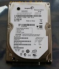 HDD Seagate Momentus 5400.3  ST980811AS / SATA / 80GB 8MB Cache 2,5 Zoll Top!!!