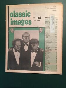 RARE THE THREE  STOOGES 1985 CLASSIC IMAGES NEWSPAPER # 118 VTG COLLECTORS