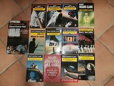 lot 12 livre poche 1 broché policier énigme M. higgins clark thriller meurtre