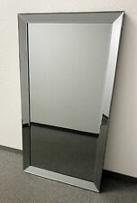 Classy Wall Mirror Anthracite 130cm Mirror Frame From Colmore Mirror Glass Frame