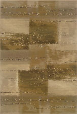 """2x8 Runner Sphinx Modern Beige Squares 908A1 Area Rug - Approx 2' 3"""" x 7' 6"""""""