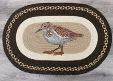 Sandpiper Braided Oval Rug 20 x 30 by Earth Rugs