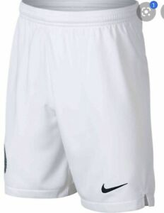 Nike Dri-Fit  Youth Nigeria Home 2018 Soccer Shorts White  Green XL AH7880-100