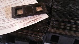 221 HOLSON plastic reusable stereo Realist slides Mounts slip-in