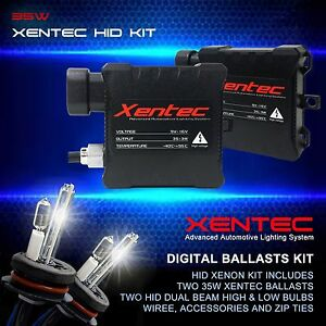 Xentec 35W 55W HID Kit Xenon Light Halogen High HID Low H4 H13 9004 9007 HB2 HB5